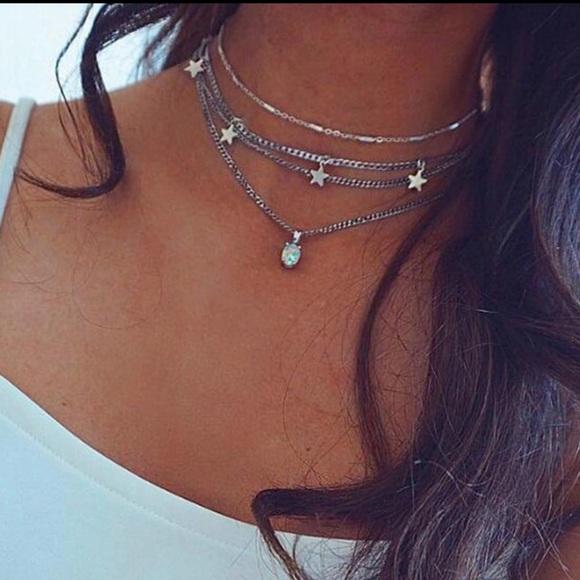Jewelry - • Paige • Layered Stars Necklace